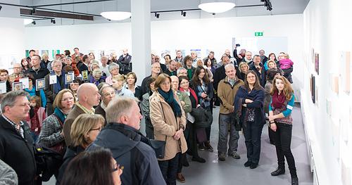 """Ausstellungseröffnung """"Piccolo"""", Kunsthaus Troisdorf, 20.1.2013"""